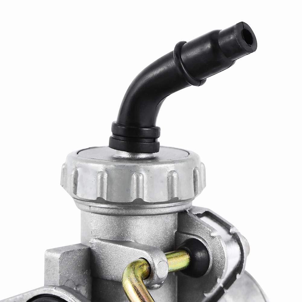 Motorradvergaser Vergaser f/ür PZ20 50ccm 70ccm 90ccm 110ccm 125ccm ATV Quad Go-Kart Vergaser VERGASER Motorradvergaser , Mechanischer Vergaser