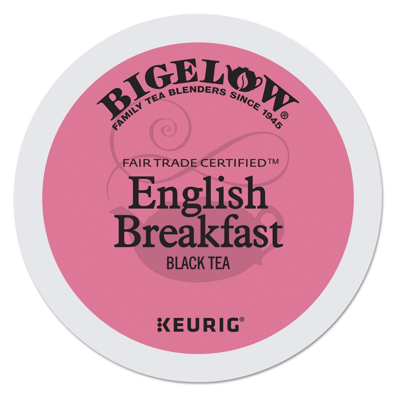 Bigelow 6080 English Breakfast Tea K-Cups Pack, 24/box