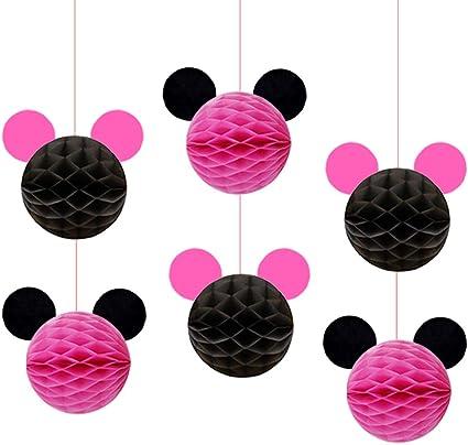 Amazon.com: Kreatwow Minnie - Bolas decorativas para fiestas ...