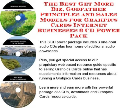 (The Best Get More Biz, Godfather Principles and Sales Models for Grahpics Cards Internet Businesses 3 CD Power)