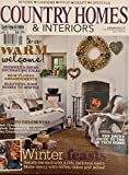 COUNTRY HOMES & INTERIORS, JANUARY 2013**