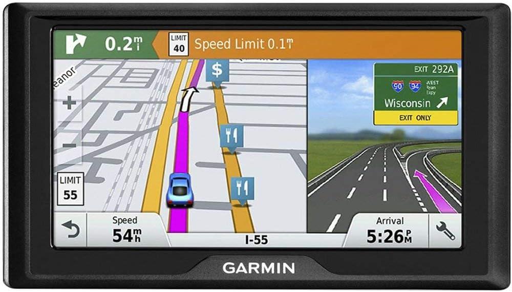 Lifetime Maps /& Traffic U.S Garmin Drive 60 LMT GPS Navigation System /& Canada Renewed