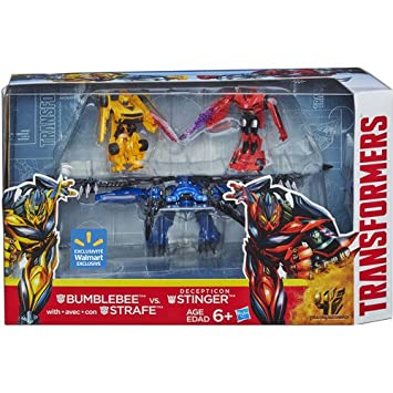 Transformers 4 Age of Extinction Exclusive Action Figure 3 ... Transformers 4 Bumblebee Vs Stinger