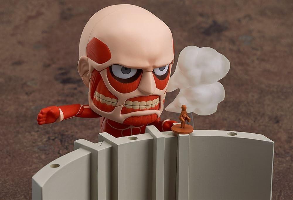 Good Smile GSC Nendoroid 360 Colossal Titan /& Attack on Titan Playset Genuine