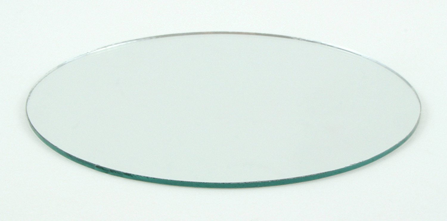 8 inch Craft Mirrors Round in Bulk Wholesale 100 Pieces Great for Centerpieces