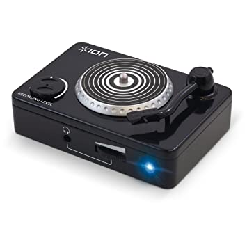 ION Audio Vinyl Forever Compact USB Conversion Turntable Adapter Perfect For Turntables Cassette Decks