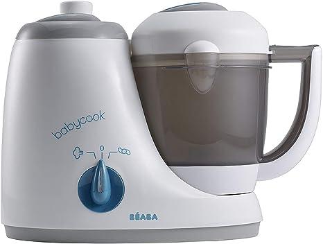 Béaba BABYCOOK ORIGINAL - Robot de Cocina 4-en-1 (Gris/Azul) [UK IMPORT]: Amazon.es: Bebé