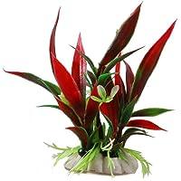 NiceButy Plantas de plástico Decorativas para acuarios, Color