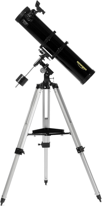 Orion 08944e Reflector 48x Negro Telescopio 11,6 cm, 15,6 kg, 15 cm, Metal, Madera