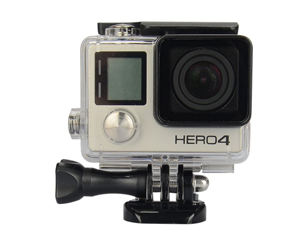 Housing Case Transparent for GoPro Hero 4 3 Plus Waterproof Case, Enegg Diving Protective Rotective Housing Shell 45m Accessories for Go Pro Hero 4 3+ Action Camera