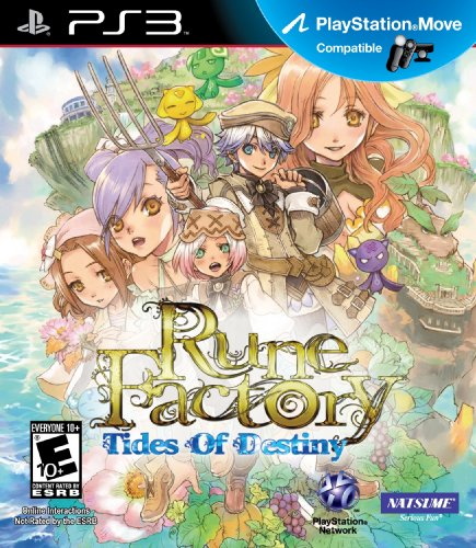 Rune Factory: Tides of Destiny - Playstation 3 by Natsume