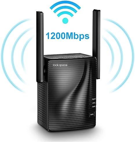 Amazon.com: Extensor de alcance WiFi - repetidor de señal ...