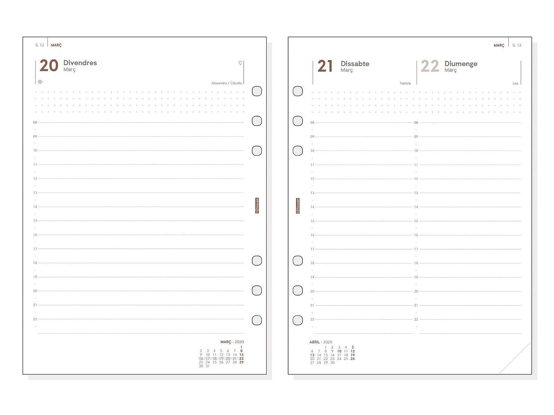 Finocam - Agenda Organizador 2020 1 día página Open Leo.2 ...
