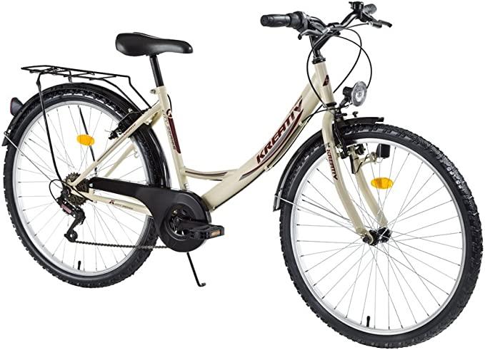 Mujer bicicleta Dhs creativo Trekking Bike 26 pulgadas – Color ...