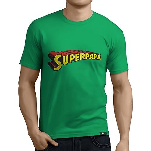 Camiseta Superpapá - Regalos para el día del Padre