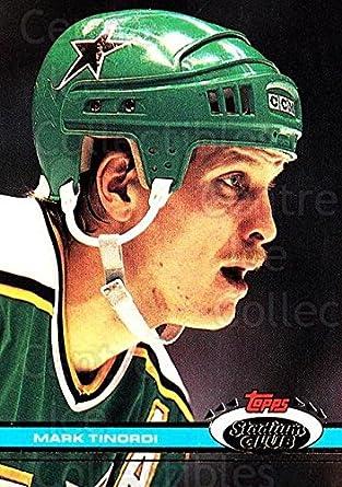 Amazon.com  (CI) Mark Tinordi Hockey Card 1991-92 Stadium Club (base ... c1149ab4f