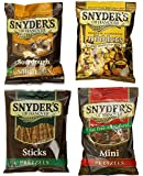 Snyder's of Hanover Pretzel Variety Pack, 1.5 Ounce, (Pack of 24)