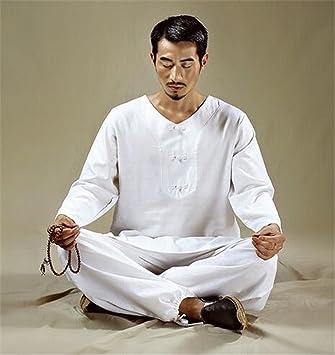 peiwen La meditación Traje M/algodón y Lino/Yoga / Danza ...