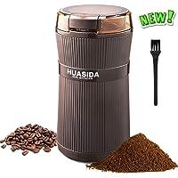 huasida HSD Molinillo de café eléctrico,Muela los Granos