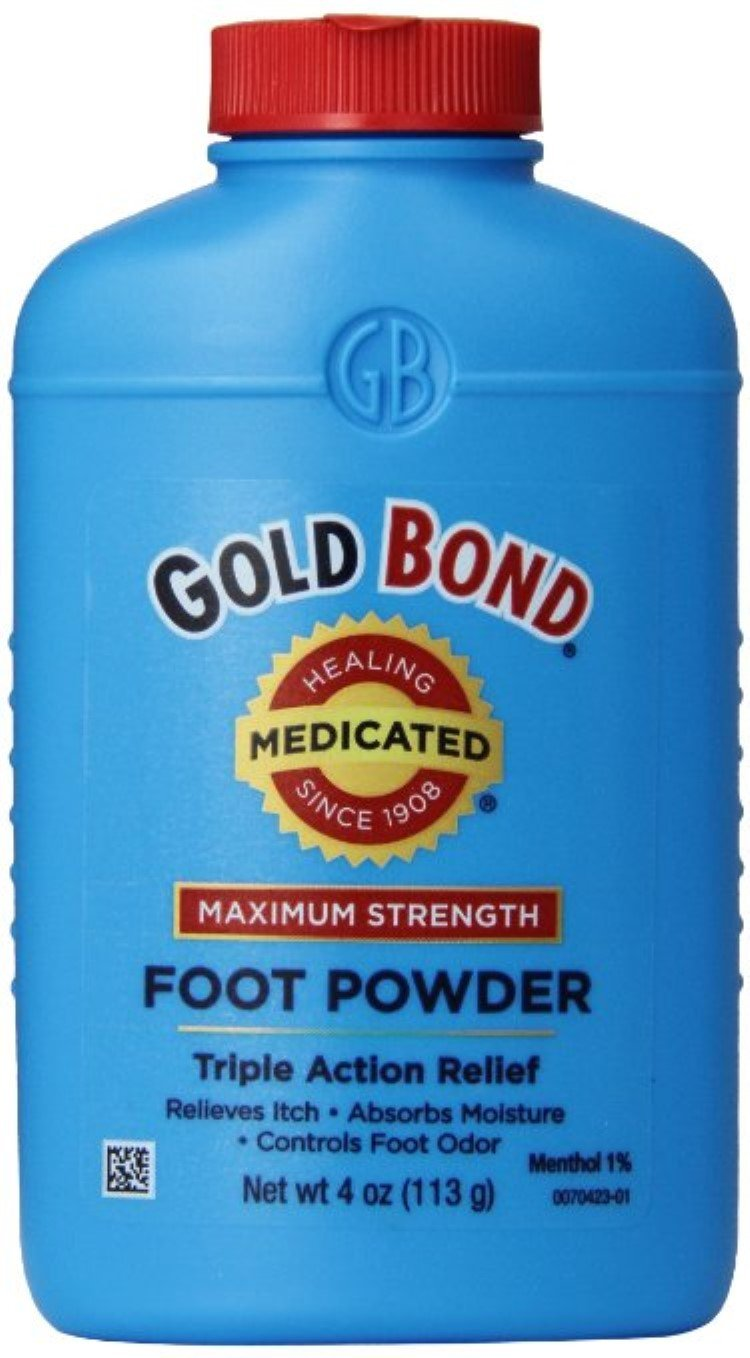 Gold Bond Foot Pwd Size 4z Gold Bond Medicated Foot Powder Triple Action Relief by Gold Bond