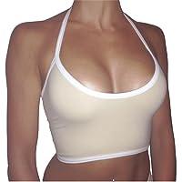 Misaky Women's Boho Tank, Bustier Bra Vest Crop Top Bralette Blouse Cami