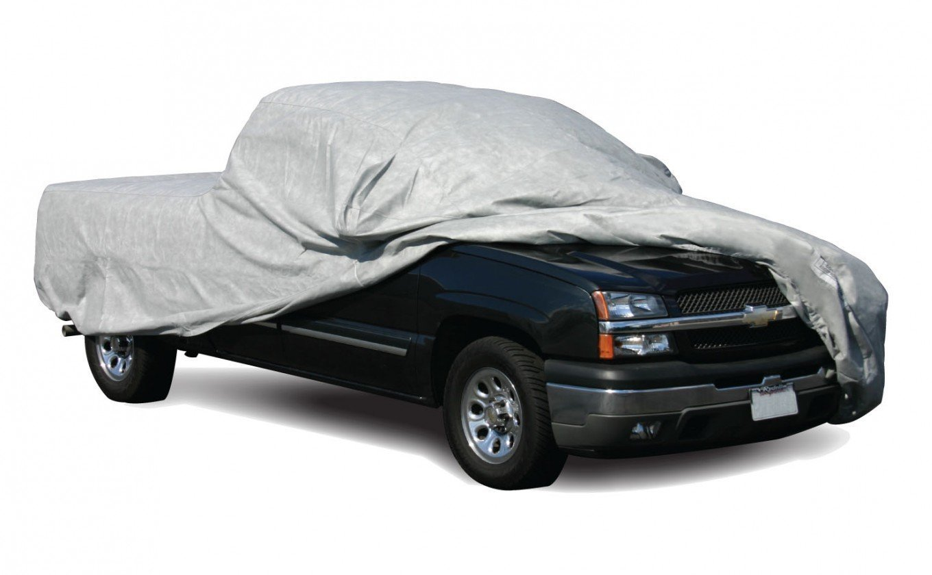 Medium Gray ADCO 12284 SFS Aqua Shed Pick-Up Truck Cover
