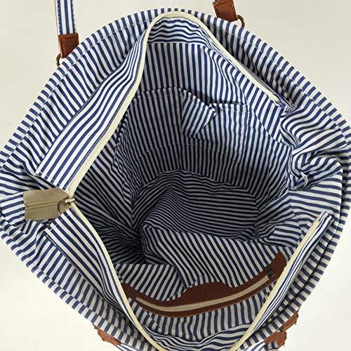 Bolsa Mano Tejer de bolso Paja Bolso Blanco Mujer hombro tejido playa de de Bolsa de paja hombro Verano a Bolsa Tejido Solo de Bolso Biback borlas Bolsa Playa AE0ZA