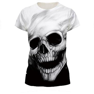 T-Shirt Octopus T-Shirt à Col Rond Imprimé   af5b38bc5a2f