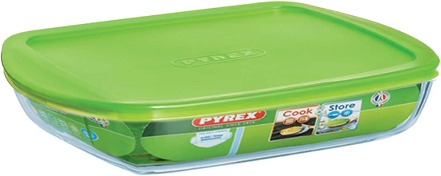 Pyrex Recipiente con Tapa, 28 x 20 cm: Amazon.es: Hogar
