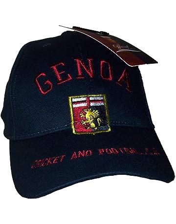Genoa CFC Cappello Cappellino Ufficiale GRIFONE Berretto CAPGEBLGRIF b8e717b45bac
