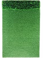 Motivo Golf StrikeDown Dual-Turf Pro Golf Mat (48in x 36in) | Fairway & Rough Grass Golf Hitting Mat for Indoor & Outdoor Practice | Free Two-Day Delivery & Free Practice Balls