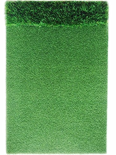 StrikeDown Dual-Turf Tour Golf Hitting Mat (48in x 36in) by Motivo Golf by Motivo Golf (Image #1)