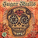 img - for Sugar Skulls 2017 Mini Wall Calendar: Day of the Dead book / textbook / text book
