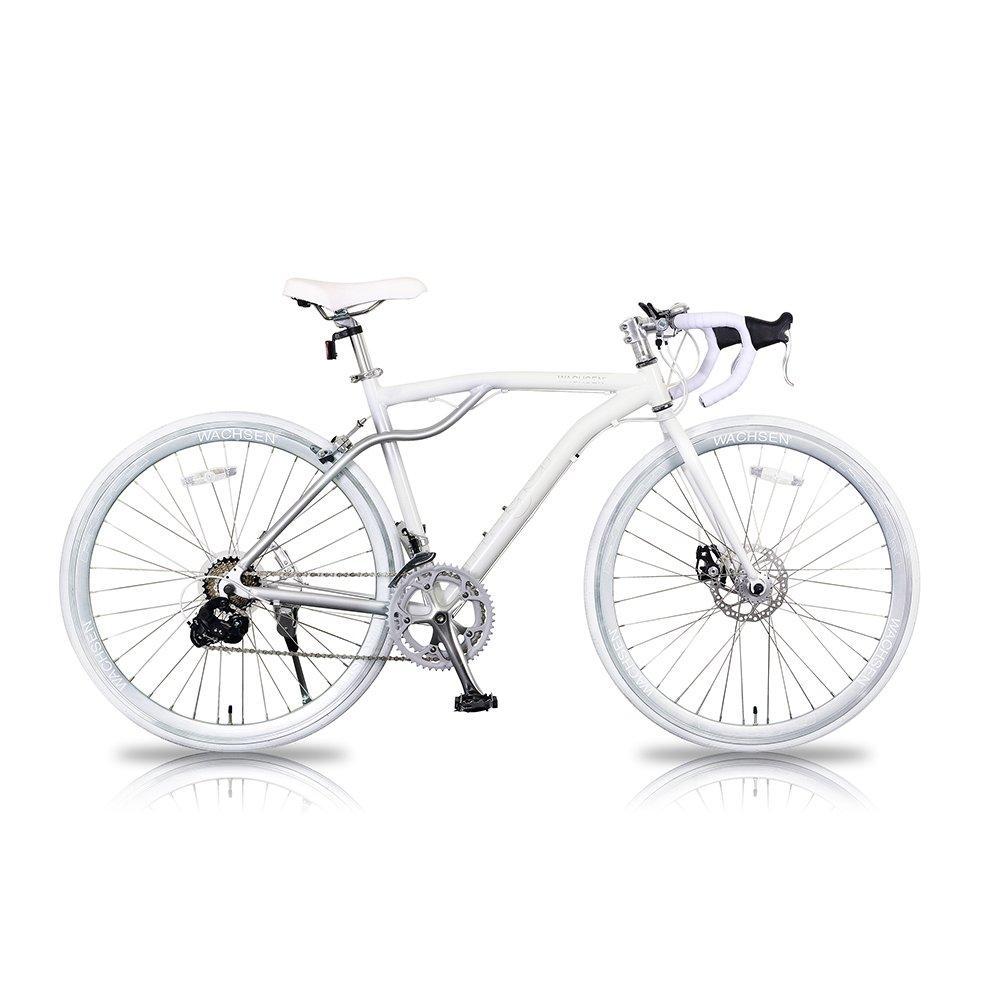 WACHSEN(ヴァクセン) 700Cアルミロードバイク14段変速Flugel(フリューゲル) BAR-700-WH ホワイト B01329PEGK