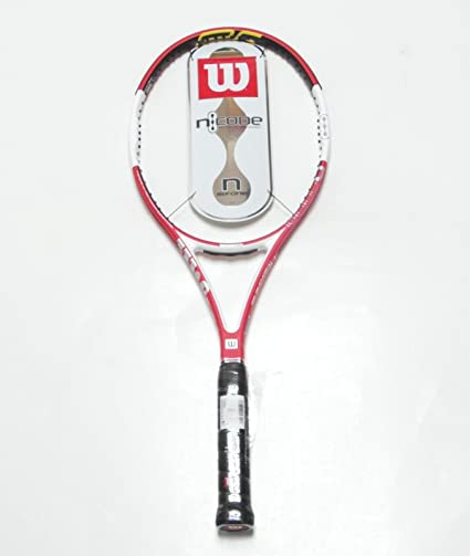 the best wholesale sales preview of Amazon.com : Wilson nCode Six-One 95 Tennis Racquet 4 5/8 18 ...