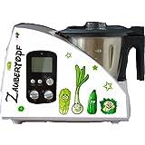 küchenmaschinen autocollants légumes pour Monsieur Cuisine