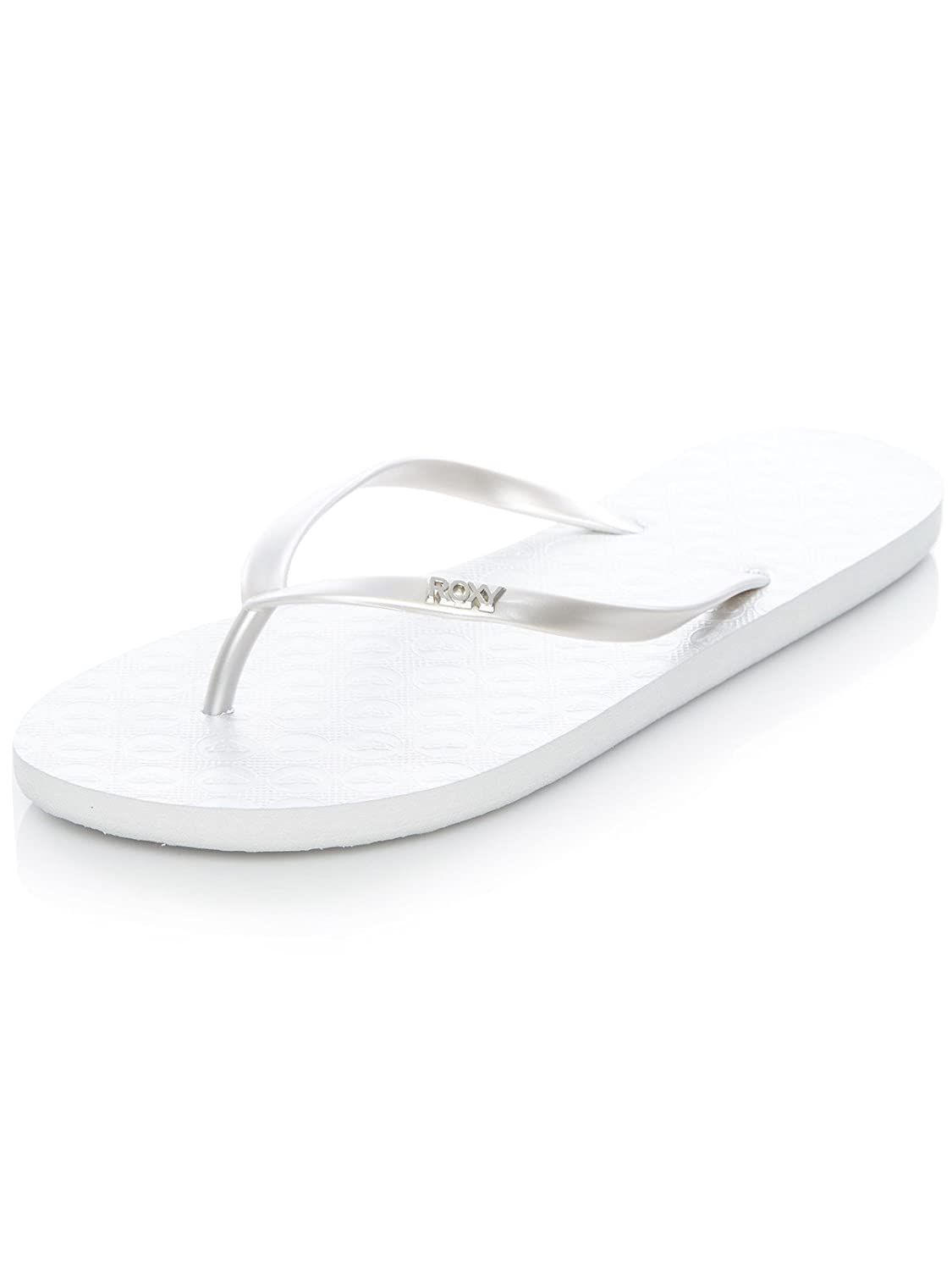 4f484c885da36 Roxy Silver Viva IV Womens Flip Flop  Roxy  Amazon.com.au  Fashion