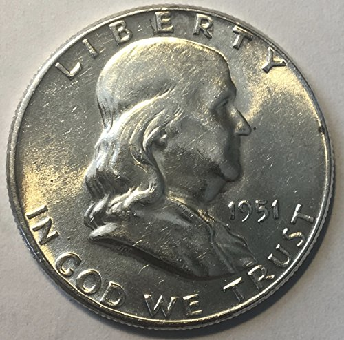 1951 P Silver Franklin Half Dollar MS-61 ()
