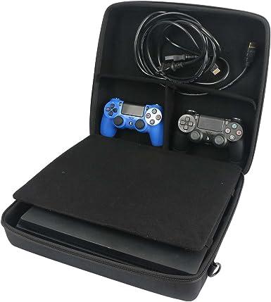 para Sony Playstation 4 Pro Estuche de transporte paquete Viajes manga de bolso encaja Dualshock 4 V2/ Move Doble Pack/ Cámara por co2CREA: Amazon.es: Videojuegos