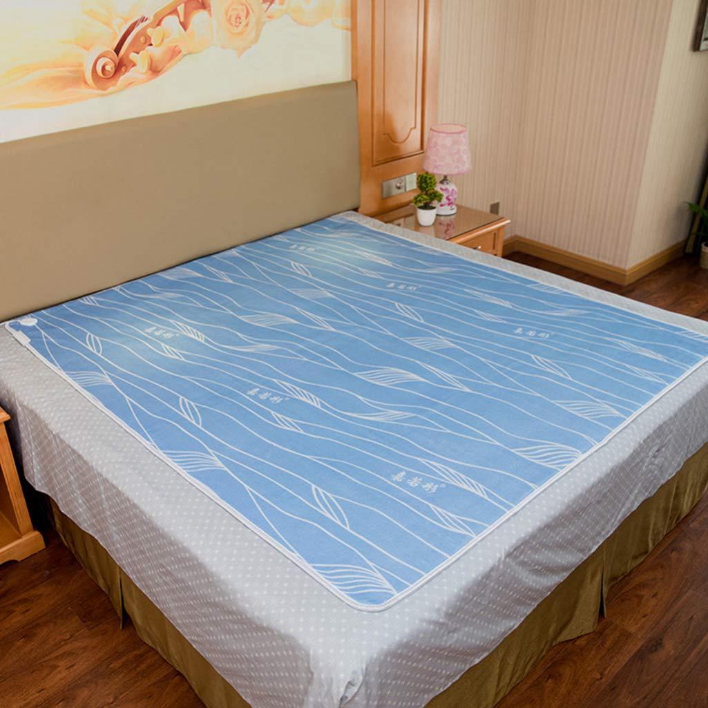 B ZHFC Surmatelas Chauffant Couverture chauffante, sûre sans Radiation, Thermostat à contrôle Unique, imperméable à l'eau, Couverture chauffante,C_200180cm 180150cm