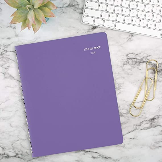 AT-A-GLANCE 2020 Weekly & Monthly Planner/Appointment Book, 8-1/2