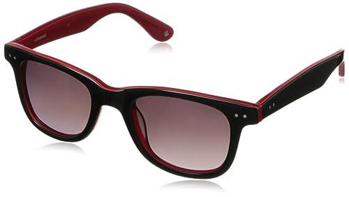 Amazon.com: Polaroid x8400s polarizadas Wayfarer anteojos de ...