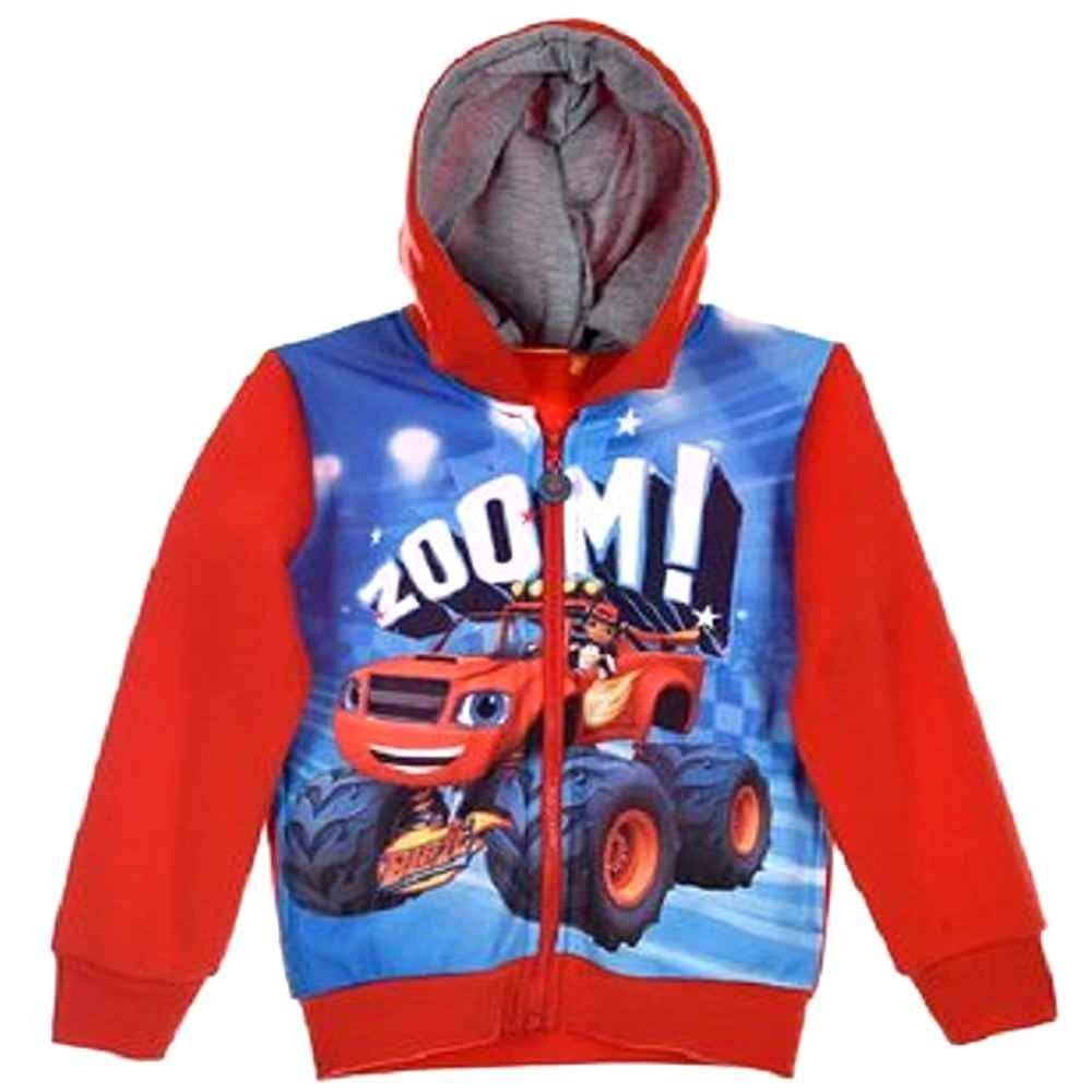 Blaze and the Monster Machine Boys Jumper Sweater Sweat Top