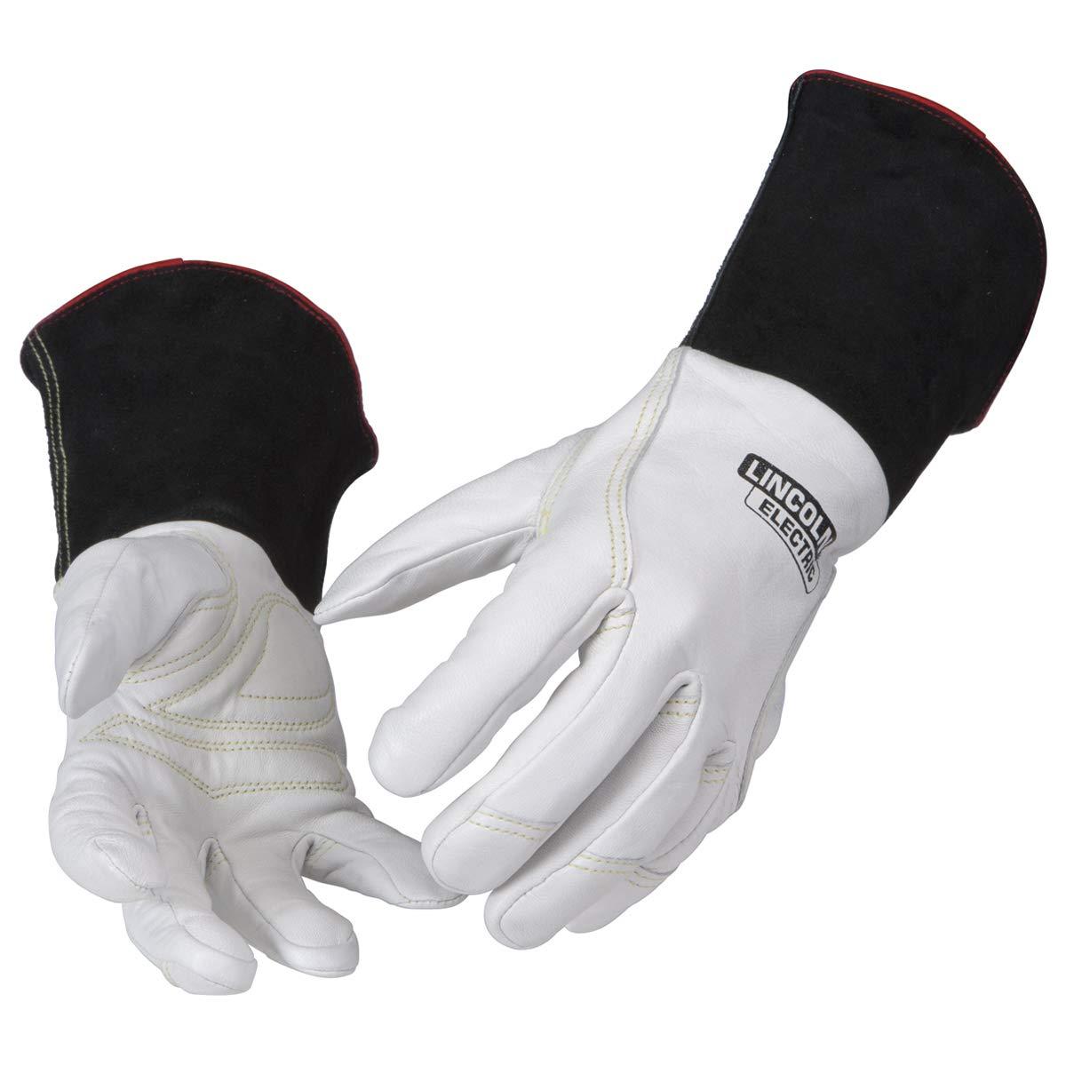 Lincoln Electric Premium TIG Welding Gloves | Top Grain Leather | High Dexterity | Medium | K2983-M