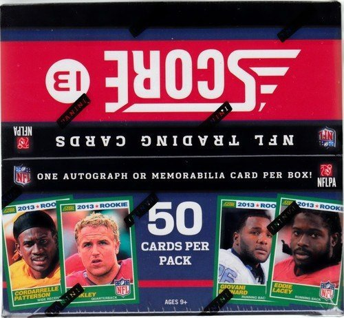 2013 Score JUMBO 2013 Football box with at (3 hits per box with at least 2 autographs) B00D8KNVZK, きなこの厳煎屋:537e6cd1 --- m2cweb.com