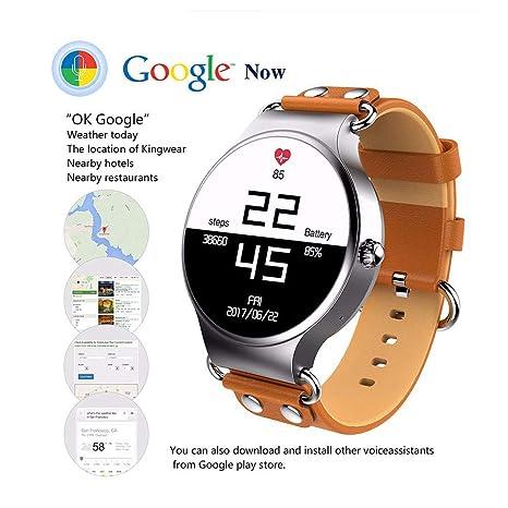 TLgf Elegante Reloj de Moda para Hombres y Mujeres GPS ...