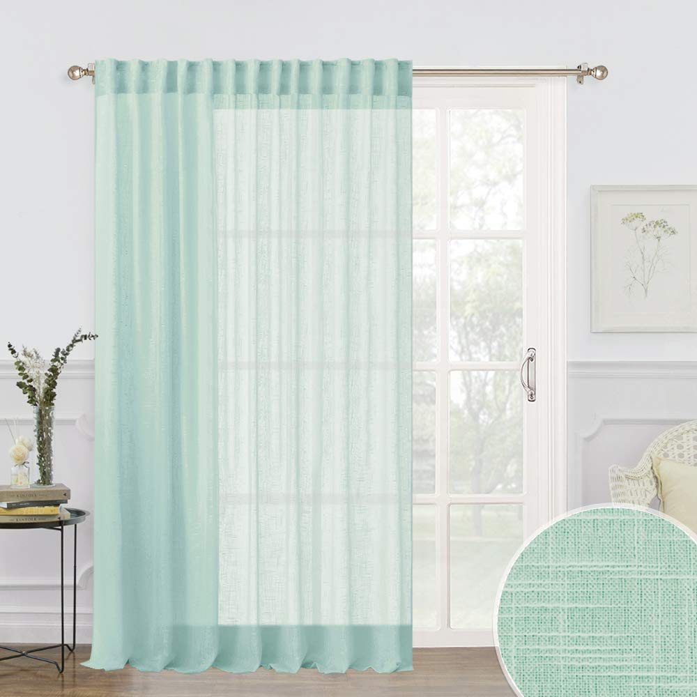 Width 52 by Length 84 Inch Brown Single Piece RYB HOME Water Repelent Exterior Blackout Curtain Panel With Sliver Ring Grommet Outdoor Curtains Drapes for Porch