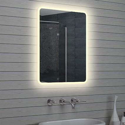 Lux Aqua Design LED specchio da bagno luce specchio da parete ...