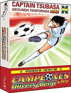 Campeones: Oliver Y Benji - Temporada 2 [DVD]