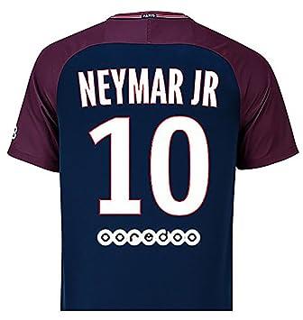 Camiseta para hombre del Paris Saint-Germain, 2017-2018 (primera equipación)-Neymar Jr 10, xx-large: Amazon.es: Deportes y aire libre